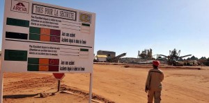 Areva uranium mining operations in Niger 