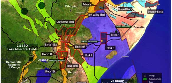 East African Oil – Maps and Prospects